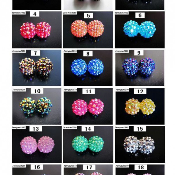 Freeshipping-20pcs-Sparkling-AB-Resin-Rhinestones-Round-Ball-Spacer-Beads-Pick-251016742701