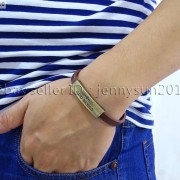 GOD-BLESS-Cross-Antique-Bronze-Leather-Wristband-Magnetic-Cuff-Bangle-Bracelet-262024487664-8