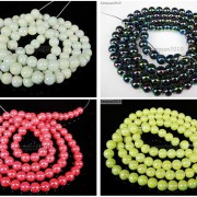 Glass-Pearl-Round-Beads-Color-With-AB-Finish-4mm-6mm-8mm-10mm-White-Black-Red-370892333462-2