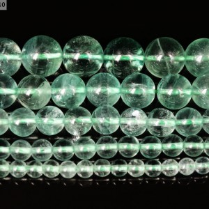 Grade-A-Natural-Green-Fluorite-Gemstone-Round-Beads-155-4mm-6mm-8mm-10mm-12mm-371111450948
