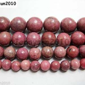 Grade-A-Natural-Rhodochrosite-Gemstone-Round-Beads-155-6mm-8mm-10mm-12mm-261065632518