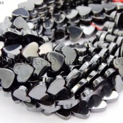 Grade-AAA-Healing-Natural-MAGNETIC-Hematite-Gemstone-Heart-Beads-16-6mm-8mm-281230526538-2