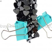 Grade-AAA-Healing-Natural-MAGNETIC-Hematite-Gemstone-Heart-Beads-16-6mm-8mm-281230526538-5
