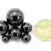Grade-AAA-Natural-Black-Onyx-Gemstone-Round-Sphere-Ball-Healing-Collectibles-282232447351-4