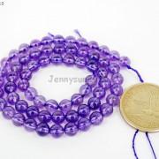 Grade-AAA-Natural-Lavender-Amethyst-Gemstone-Round-Beads-155039039-4mm-6mm-8mm-10mm-261692474449-efd7