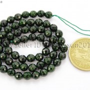 Green-Sand-Stone-Gemstone-Faceted-Round-Ball-Loose-Beads-15039039-6mm-8mm-10mm-12mm-281182403324-bc55