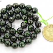 Green-Sand-Stone-Gemstone-Faceted-Round-Ball-Loose-Beads-15039039-6mm-8mm-10mm-12mm-281182403324-fef4