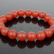 Handmade-10mm-Matte-Frosted-Natural-Gemstones-Round-Beads-Stretchy-Bracelet-371748654789-4f37
