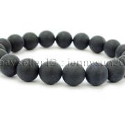 Handmade-10mm-Matte-Frosted-Natural-Gemstones-Round-Beads-Stretchy-Bracelet-371748654789-5007