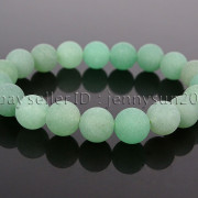Handmade-10mm-Matte-Frosted-Natural-Gemstones-Round-Beads-Stretchy-Bracelet-371748654789-7b5d