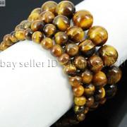 Handmade-10mm-Natural-Gemstone-Round-Beads-Stretchy-Bracelet-Healing-Reiki-261516825719-544d