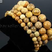 Handmade-10mm-Natural-Gemstone-Round-Beads-Stretchy-Bracelet-Healing-Reiki-261516825719-77a9