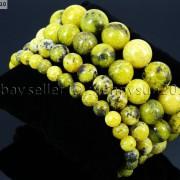 Handmade-10mm-Natural-Gemstone-Round-Beads-Stretchy-Bracelet-Healing-Reiki-261516825719-80e0