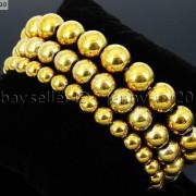 Handmade-10mm-Natural-Gemstone-Round-Beads-Stretchy-Bracelet-Healing-Reiki-261516825719-9c90