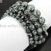 Handmade-10mm-Natural-Gemstone-Round-Beads-Stretchy-Bracelet-Healing-Reiki-261516825719-cc81