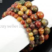 Handmade-10mm-Natural-Gemstone-Round-Beads-Stretchy-Bracelet-Healing-Reiki-261516825719-f1cd