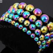 Handmade-10mm-Natural-Gemstone-Round-Beads-Stretchy-Bracelet-Healing-Reiki-261516825719-f2a3