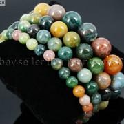 Handmade-6mm-Mixed-Natural-Gemstone-Round-Beads-Stretchy-Bracelet-Healing-Reiki-371094027840-abbd