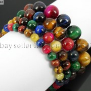 Handmade-6mm-Mixed-Natural-Gemstone-Round-Beads-Stretchy-Bracelet-Healing-Reiki-371094027840-c29c