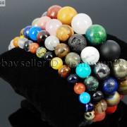 Handmade-6mm-Mixed-Natural-Gemstone-Round-Beads-Stretchy-Bracelet-Healing-Reiki-371094027840-facb