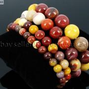 Handmade-8mm-Mixed-Natural-Gemstone-Round-Beads-Stretchy-Bracelet-Healing-Reiki-281374615131-75c9