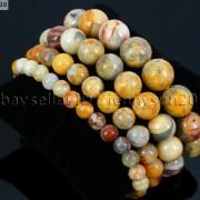 Handmade-8mm-Mixed-Natural-Gemstone-Round-Beads-Stretchy-Bracelet-Healing-Reiki-281374615131-e463