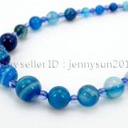 Handmade-Natural-Gemstone-Beads-412mm-Graduated-Adjustable-Necklace-Healing-282029478645-0b83