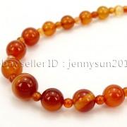 Handmade-Natural-Gemstone-Beads-412mm-Graduated-Adjustable-Necklace-Healing-282029478645-13f6