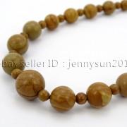 Handmade-Natural-Gemstone-Beads-412mm-Graduated-Adjustable-Necklace-Healing-282029478645-16ef