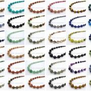 Handmade-Natural-Gemstone-Beads-412mm-Graduated-Adjustable-Necklace-Healing-282029478645