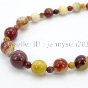 Handmade-Natural-Gemstone-Beads-412mm-Graduated-Adjustable-Necklace-Healing-282029478645-1997