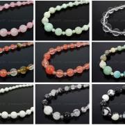 Handmade-Natural-Gemstone-Beads-412mm-Graduated-Adjustable-Necklace-Healing-282029478645-2