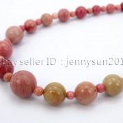 Handmade-Natural-Gemstone-Beads-412mm-Graduated-Adjustable-Necklace-Healing-282029478645-2120