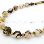 Handmade-Natural-Gemstone-Beads-412mm-Graduated-Adjustable-Necklace-Healing-282029478645-2376