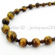 Handmade-Natural-Gemstone-Beads-412mm-Graduated-Adjustable-Necklace-Healing-282029478645-2e80