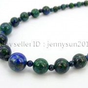 Handmade-Natural-Gemstone-Beads-412mm-Graduated-Adjustable-Necklace-Healing-282029478645-46ea