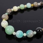 Handmade-Natural-Gemstone-Beads-412mm-Graduated-Adjustable-Necklace-Healing-282029478645-46ef