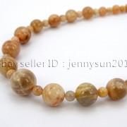 Handmade-Natural-Gemstone-Beads-412mm-Graduated-Adjustable-Necklace-Healing-282029478645-4961
