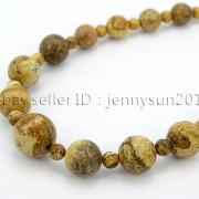 Handmade-Natural-Gemstone-Beads-412mm-Graduated-Adjustable-Necklace-Healing-282029478645-59c6