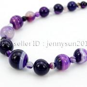 Handmade-Natural-Gemstone-Beads-412mm-Graduated-Adjustable-Necklace-Healing-282029478645-5d75