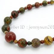 Handmade-Natural-Gemstone-Beads-412mm-Graduated-Adjustable-Necklace-Healing-282029478645-5f42