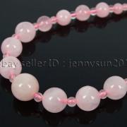 Handmade-Natural-Gemstone-Beads-412mm-Graduated-Adjustable-Necklace-Healing-282029478645-6e90