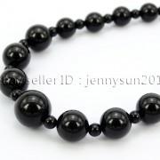 Handmade-Natural-Gemstone-Beads-412mm-Graduated-Adjustable-Necklace-Healing-282029478645-9b80