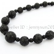 Handmade-Natural-Gemstone-Beads-412mm-Graduated-Adjustable-Necklace-Healing-282029478645-d605