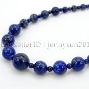 Handmade-Natural-Gemstone-Beads-412mm-Graduated-Adjustable-Necklace-Healing-282029478645-f12c