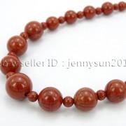 Handmade-Natural-Gemstone-Beads-412mm-Graduated-Adjustable-Necklace-Healing-282029478645-f815