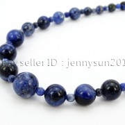 Handmade-Natural-Gemstone-Beads-412mm-Graduated-Adjustable-Necklace-Healing-282029478645-fafc