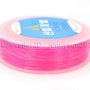 Korean-Strong-Stretchy-Elastic-Wire-Cord-Thread-For-Beading-Bracelet-Necklace-282231252572-15c9