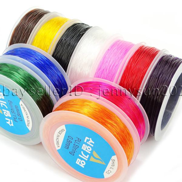 Korean-Strong-Stretchy-Elastic-Wire-Cord-Thread-For-Beading-Bracelet-Necklace-282231252572
