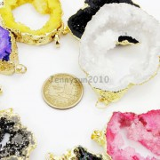 Large-Natural-Druzy-Quartz-Agate-Geode-Sliced-Pendant-Charm-Beads-Gold-Necklace-261851410079-3